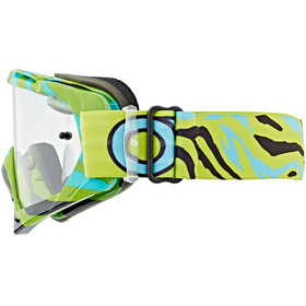 ONeal B-10 Goggle STREAM neon yellow/blue-clear